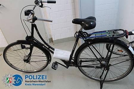 Wem gehört dieses Fahrrad der Marke Pointer?