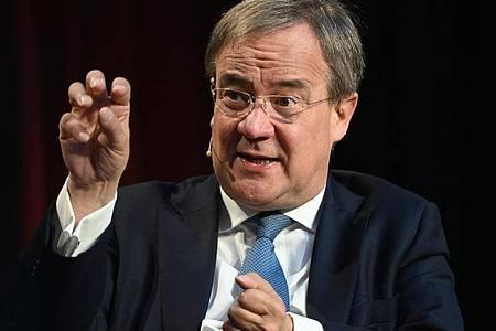 Armin Laschet, CDU-Kanzlerkandidat, CDU-Bundesvorsitzender und Ministerpräsident von Nordrhein-Westfalen. Foto: Bernd Weißbrod/dpa