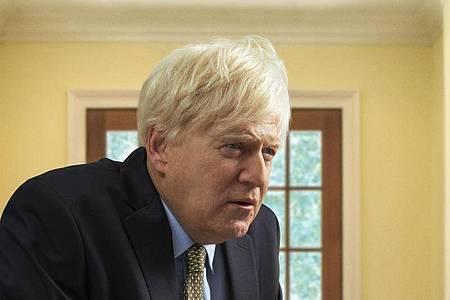 "Kenneth Branagh als Premierminister Boris Johnson in dem Sky Original Drama ""This Sceptred Isle"". Foto: Sky Uk/PA Media/dpa"