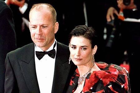 Mit Demi Moore hat Bruce Willis drei Töchter. Foto: Munns/Press Association/dpa