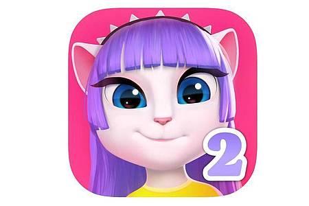 DAngela ist ein virtuelles Haustier, dass Freunde hat, sich gerne schminkt und singt. Foto: Apple