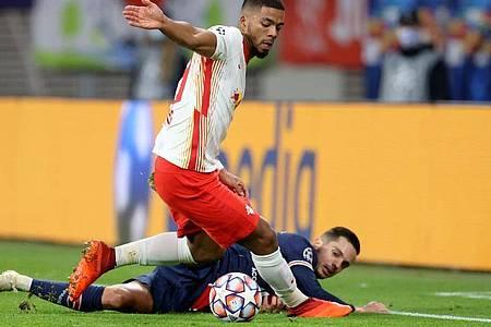 RB Leipzig muss in der Königsklasse bei Paris Saint-Germain ran. Foto: Jan Woitas/dpa-Zentralbild/dpa
