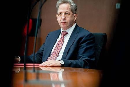 Hans-Georg Maaßen, ehemaliger Präsident des Bundesamtes für Verfassungsschutz, könnte in Thüringen Bundestagskandidat für die CDU werden. Foto: Kay Nietfeld/dpa