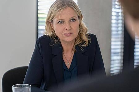 Der ZDF-Krimi «Die Chefin» mit Katharina Böhm hat sich im Quotenrennen gegen die Konkurrenz durchgesetzt. Foto: Michael Marhoffer/ZDF/dpa