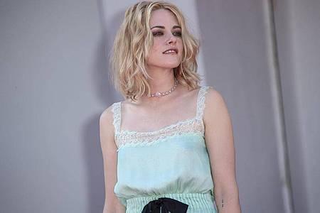 Kristen Stewart hatPrinzessin Diana im Film «Spencer» gespielt. Foto: Joel C Ryan/Invision/AP/dpa
