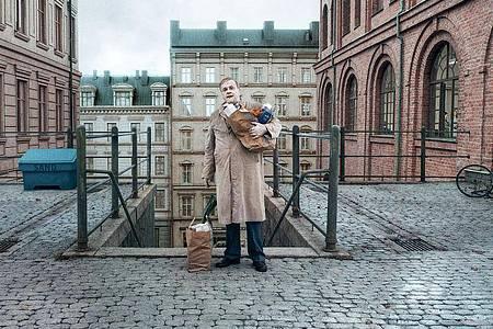 Jan-Eje Ferling ist einer der Protagonisten in Roy Anderssons neuem Film «Über die Unendlichkeit». Foto: -/Neue Visionen Filmverleih/dpa