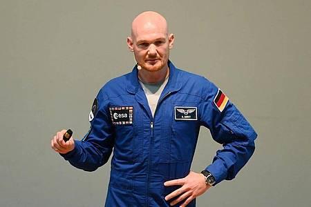 Astronaut Alexander Gerst betont, es gebe durchaus ein sehr wirkungsvolles Mittel, Corona einzudämmen: zu Hause zu bleiben. Damit habe man ein Stück Kontrolle über die Situation. Foto: Uli Deck/dpa