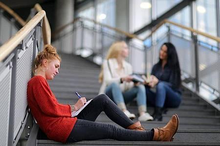 Ein duales Studium bedeutet Doppelbelastung: Und an der Hochschule gibt es meist einen straffen Zeitplan. Foto: Markus Hibbeler/dpa-tmn