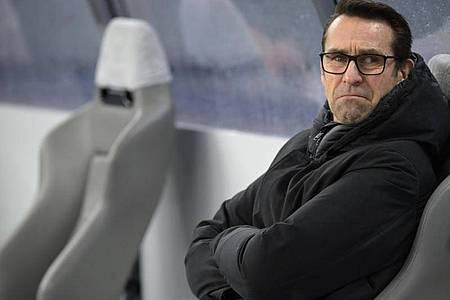 Steht bei Hertha BSC unter Druck: Manager Michael Preetz. Foto: Soeren Stache/dpa-Zentralbild/dpa