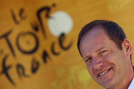 «Diese Tour wird ein Symbol der Wiedergeburt und des wirtschaftlichen Aufschwungs sein», verspricht Tourchef Christian Prudhomme. Foto: Peter Dejong/AP/dpa