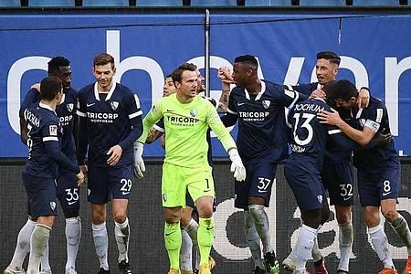 Der VfL Bochum fügte dem HSV die erste Saisonniederlage bei. Foto: Christian Charisius/dpa
