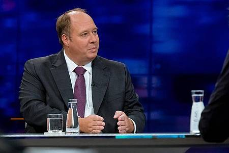 Kanzleramtschef Helge Braun in der ZDF-Sendung «Maybrit Illner». Foto: Svea Pietschmann/ZDF/dpa