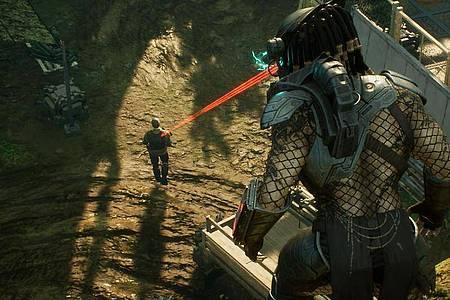 Noch eine Sekunde, und der Predator kann eine neue Scharte in seine Rüstung wetzen. Foto: Sony Interactive Entertainment/dpa-tmn