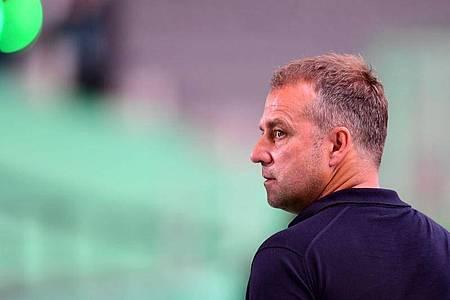 Konzentriert sich mit dem FC Bayern München voll und ganz auf die Champions League: Trainer Hansi Flick. Foto: Robert Michael/dpa-Zentralbild/Pool/dpa