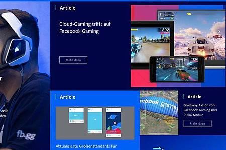 Auf Browser, Android-Geräte sowie US-Testerinnen und -Tester ist Facebooks Cloud-Gaming zunächst bechränkt. Bald dürfte das Angebot aber auch nach Europa kommen. Foto: facebook.com/dpa-tmn
