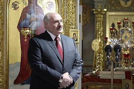 Alexander Lukaschenko, Präsident von Belarus. Foto: Maxim Guchek/POOL BelTa/AP/dpa