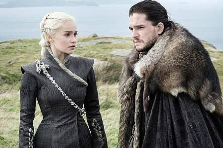 «Game of Thrones» ist tot, es lebe «Game of Thrones»? HBO entwickelt aktuell Ableger der Erfolgsserie - «House Of The Dragon» sollschon im kommenden Jahr anlaufen. Foto: Helen Sloan/HBO/SKY/dpa