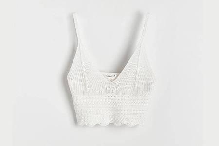 Mit Bralettes wird die Unterwäsche zum Oberteil. Hier ein Beispiel von dem Label Reserved (ca. 18 Euro). Foto: Reserved/dpa-tmn
