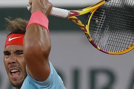 Rafael Nadal trifft im Halbfinale der French Open. auf den Argentinier Diego Schwartzman. Foto: Michel Euler/AP/dpa