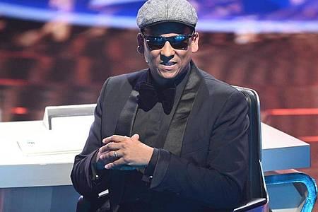 Das ist vorbei:Xavier Naidoo bei der RTL-Castingshow «Deutschland sucht den Superstar». Foto: Henning Kaiser/dpa