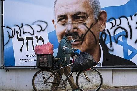 Heute wählt Israel mit der vierten Wahl binnen zwei Jahren ein neues Parlament. Foto: Oded Balilty/AP/dpa