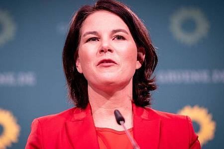 Annalena Baerbock wird seit ihrer Kanzlerkandidatur für Grünen vermehrt Ziel von Hass-Attacken. Foto: Kay Nietfeld/dpa