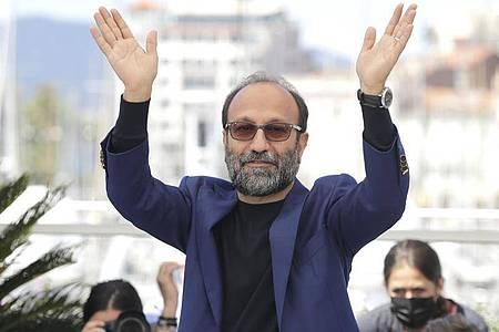 Asghar Farhadi, Regisseur aus dem Iran, in Cannes. Foto: Vianney Le Caer/Invision/AP/dpa