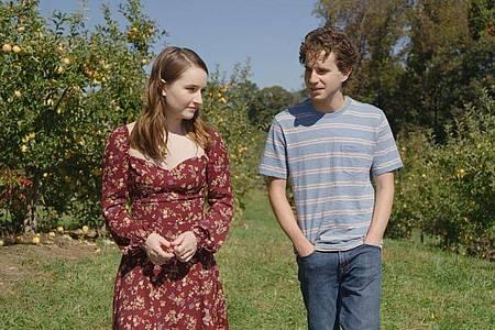 Zoe Murphy (Kaitlyn Dever) und Evan Hansen (Ben Platt) in einer Szene aus «Dear Evan Hansen». Foto: Universal Pictures/dpa