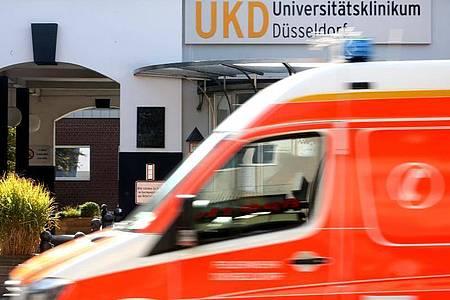 Der IT-Ausfall an der Düsseldorfer Uni-Klinik beruht nach Angaben der Landesregierung auf einem Hacker-Angriff mit Erpressung. Foto: Roland Weihrauch/dpa