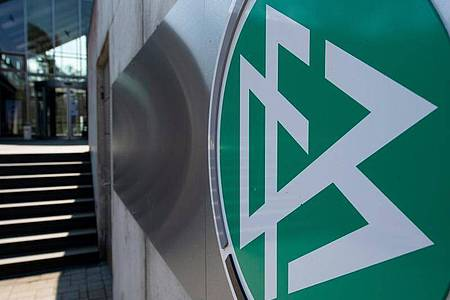 Die DFB-Zentrale in Frankfurt am Main. Foto: Boris Roessler/dpa