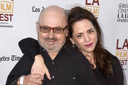 Clark Middleton mit seiner Frau Elissa Middleton 2014 in Hollywood. Foto: Paul Buck/EPA/dpa