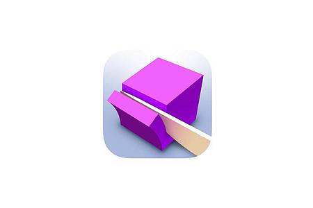 Die App «ASMR-Schneiden» bietet viele Level und damit auch unterschiedliche Objekte, die der Spieler zerschneiden muss. Foto: App Store von Apple/dpa-infocom