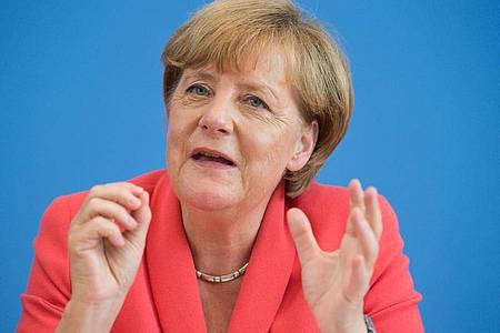 Als Angela Merkel am 31. August 2015 «Wir schaffen das» sagt, ist sie sich in keiner Weise bewusst, dass dies ihr bekanntester Satz werden wird. Foto: picture alliance / dpa