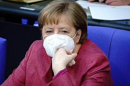 Kanzlerin Angela Merkel ist als Zeugin im Wirecard-Untersuchungsausschuss geladen. Foto: Kay Nietfeld/dpa