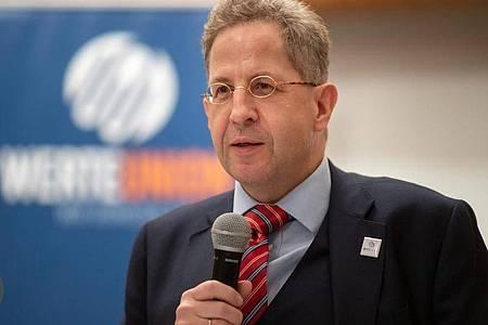 Der ehemalige Verfassungsschutzpräsident Hans-Georg Maaßen. Foto: Michael Reichel/dpa