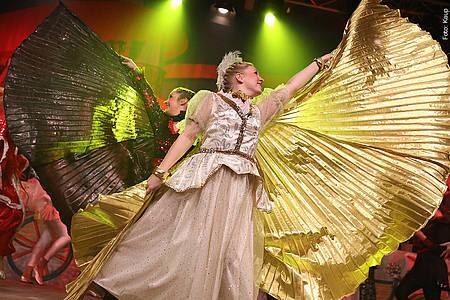 Prinzenproklamation 2020 kostümierte Frauen
