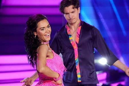 Vanessa Neigert und Alexandru Ionel dürfen beim Tanzwettbewerb «Let`s Dance» nicht mehr mitmachen. Foto: Andreas Rentz/Getty Images Europe-Pool/dpa