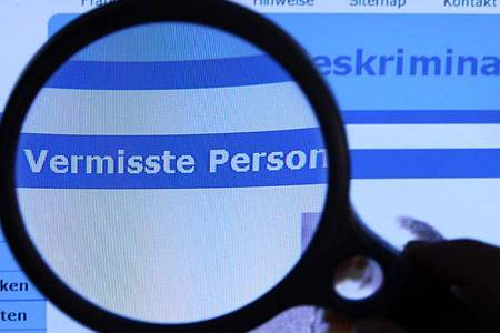 Ein Fahndungsaufruf auf der Internetseite des Bundeskriminalamtes (BKA). Foto: Jens Büttner/dpa-Zentralbild/dpa