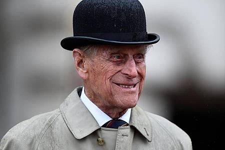 Der britische Prinz Philip im August 2017. Foto: Hannah Mckay/PA Wire/dpa