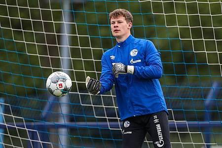 Alexander Nübel kehrt ins Schalker Tor zurück. Foto: Tim Rehbein/FC Schalke 04/RHR-FOTO/dpa