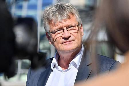 «Manchmal sind Recht haben und Recht bekommen eben einfach zwei unterschiedliche Dinge»: AfD-Bundessprecher Jörg Meuthen. Foto: Martin Schutt/dpa-Zentralbild/dpa