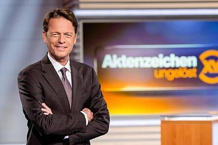 Moderator Rudi Cerne hat mit seiner Fahndungssendeung seit Jahren stabile Quoten. Foto: Nadine Rupp/ZDF/dpa