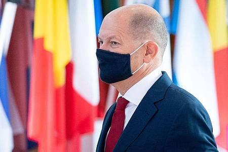 Bundesfinanzminister Olaf Scholz will Online-Geschäftsmodelle in der EU koordiniert besteuern. Foto: Kay Nietfeld/dpa