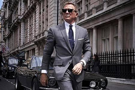 Verschoben, aber nicht vergessen:Der neue James Bond-Streifen startet nun schon eine Woche früher am 30. September. Foto: Universal Pictures/dpa