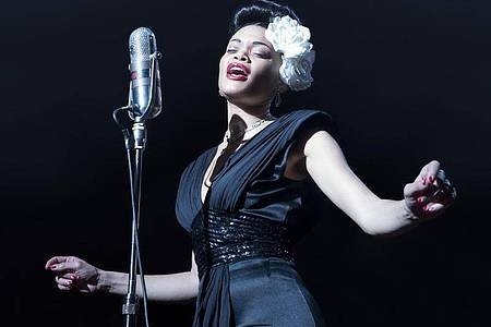 Andra Day als Billie Holiday in «The United States vs. Billie Holiday». Foto: Takashi Seida/Paramount Pictures/AP/dpa
