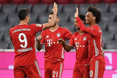 Der FC Bayern trifft im UEFA-Supercup in Budapest auf den FC Sevilla. Foto: Matthias Balk/dpa