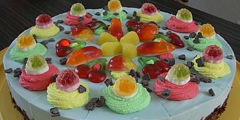Torte mit Haribo