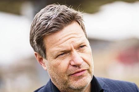Grünen-Bundesvorsitzender Robert Habeck würde am liebsten mit der SPD regieren. Foto: Andreas Arnold/dpa