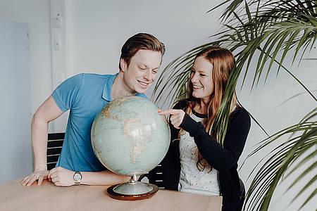 Joris Gräßlin und Rebecca Schirge