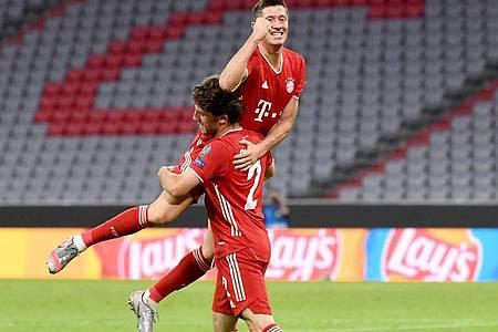 Ist in der Form seines Lebens:Bayern-Stürmer Robert Lewandowski (oben). Foto: Sven Hoppe/dpa